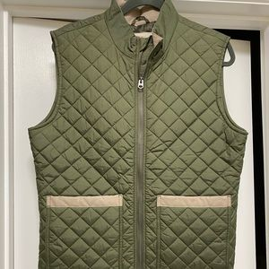 Brooks Brothers Quilted vest for men.